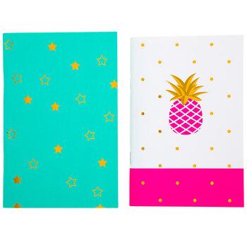 Pineapple Star Notebooks