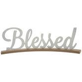Blessed Metal Decor