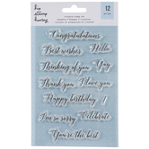 Special Occasion Clear Stamps