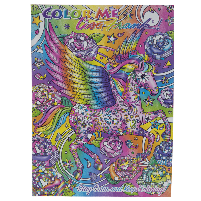 - Lisa Frank Stay Calm & Keep Coloring Book Hobby Lobby 1884782