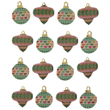 Christmas Ornament 3D Stickers