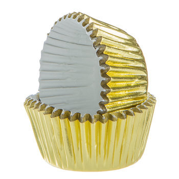 Gold Foil Candy Cups