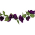 Purple Rose Garland