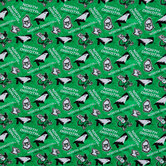 North Dakota Allover Collegiate Cotton Fabric