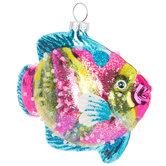 Striped Fish Ornament