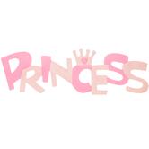 Princess Wood Wall Decor