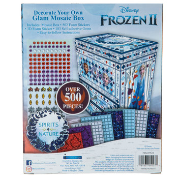 Frozen 2 Glam Mosaic Box Kit