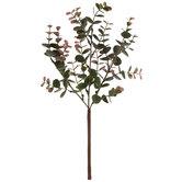 Green & Red Eucalyptus Pick
