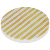 Yellow Striped Car Coaster