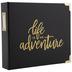 Black & Gold Adventure 2-Ring Scrapbook Album - 8