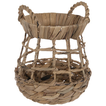 Woven Straw Container