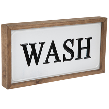 Wash Metal Wall Decor