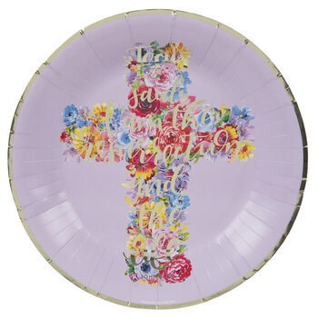 The Resurrection & The Life Gold Foil Plates - Large