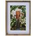 Flowered Doorway Framed Wall Decor