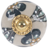 Gold Base Kashmir Knob