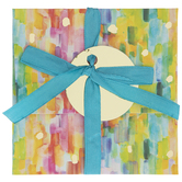 Watercolor Rainbow Gift Card Holder