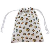Leopard Print Jewelry Bag