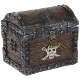 Pirate's Treasure Chest Jewelry Box