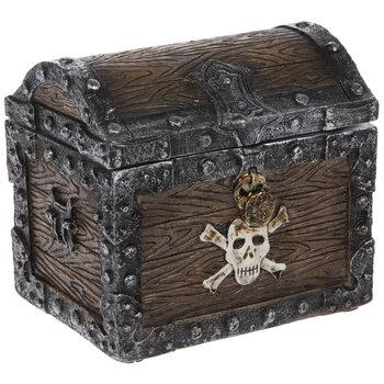 Pirate's Treasure Chest Jewelry Box