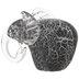 Black & White Glass Elephant