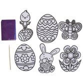 Easter Foil Art Craft Kit