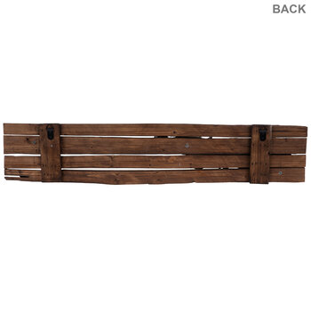 Western Rifle Wood Wall Decor