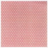 """Rose Gold Hearts Glitter Scrapbook Paper - 12"""" x 12"""""""