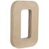 Paper Mache Number 0 - 8