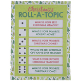 Christmas Roll-A-Topic Game