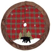 Bear & Plaid Tree Skirt
