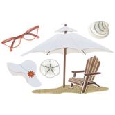 Beach House 3D Stickers