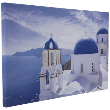 Mediterranean Coast Canvas Wall Decor
