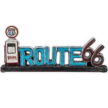 Route 66 & Gas Pump Light Up Decor