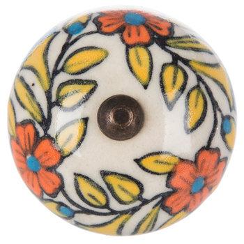 Floral Motif Knob