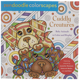 Zendoodle Cuddly Creatures Coloring Book