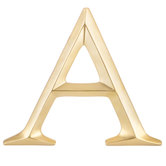 Gold Letter Wall Decor - A