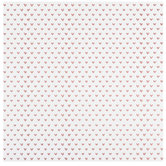 "Rose Gold Hearts Foil Scrapbook Paper - 12"" x 12"""