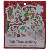 Mickey & Minnie Mouse Tub Time Kit
