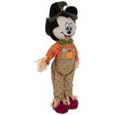 Mickey Harvest Self-Standing Scarecrow