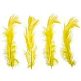Yellow Feather Fluff