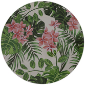 Floral Plate Charger