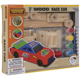 Build Your Own Wood Race Car Kit