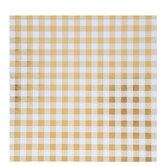 "Gingham Foil Scrapbook Paper - 12"" x 12"""