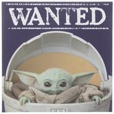Baby Yoda Wanted Wood Wall Decor