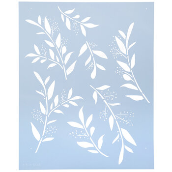 Tranquil Branches Stencil