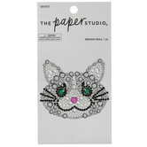 Cat Rhinestone Sticker