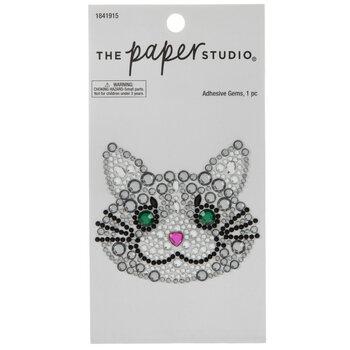 Cat Rhinestone Sticker