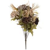 Chrysanthemum, Berry & Lotus Pod Bush