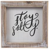 Stay Salty Wood Wall Decor
