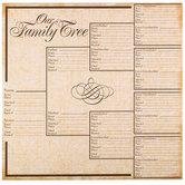"Family Tree Scrapbook Paper - 12"" x 12"""